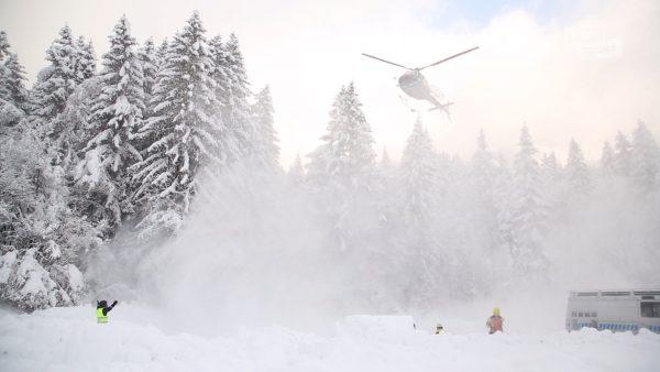 Bis zu sechs Meter Schnee liegen auf der Innsbrucker Seegrube.
