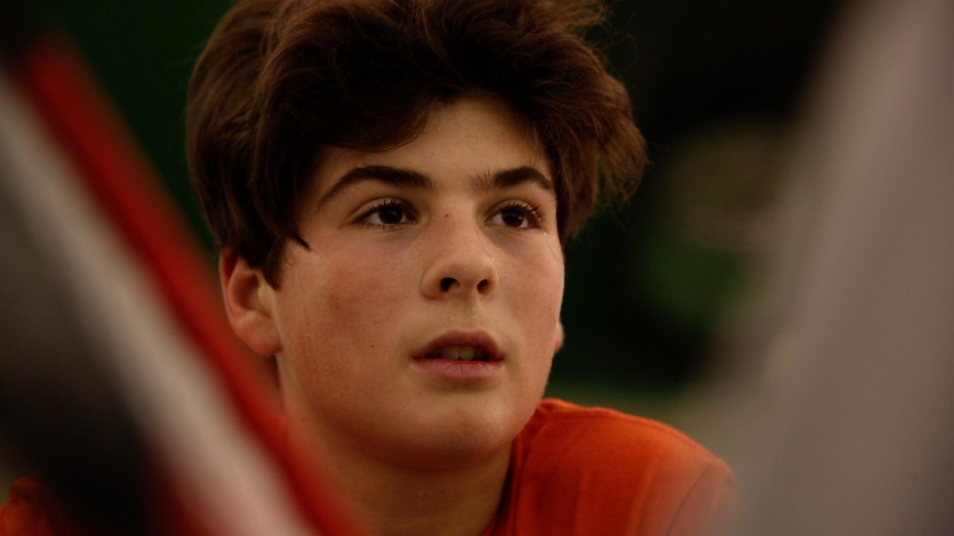 Daniel Zimmermann ist bereits mit 13 Jahren einer der besten Tennistalente in Tirol und Österreich