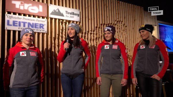 Schlappe für Österreichs Damen im Super-G bei Ski-WM