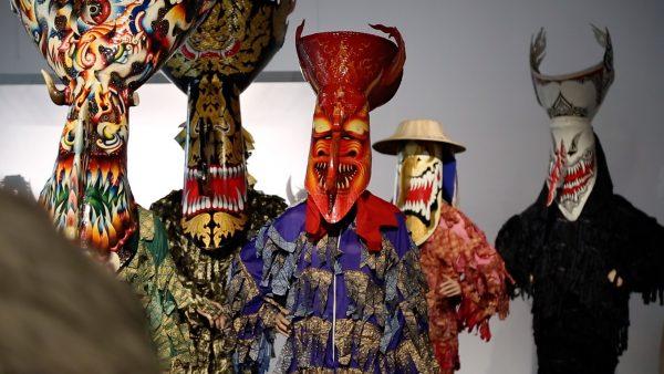 Über wilde Gestalten, Ungeheuer, Mischwesen und Masken
