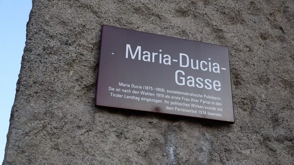 Allerhand aus'm Tyroler Land: Die Geschichten hinter den Straßennamen der Landeshauptstadt