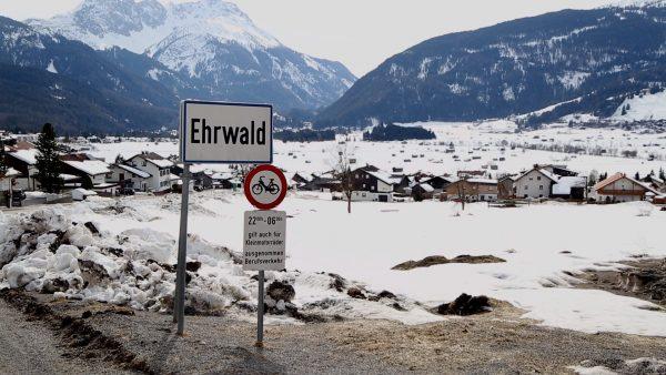 Bürgermeister Martin Hohenegg kritisiert die Stimmung in dem Ort Ehrwald