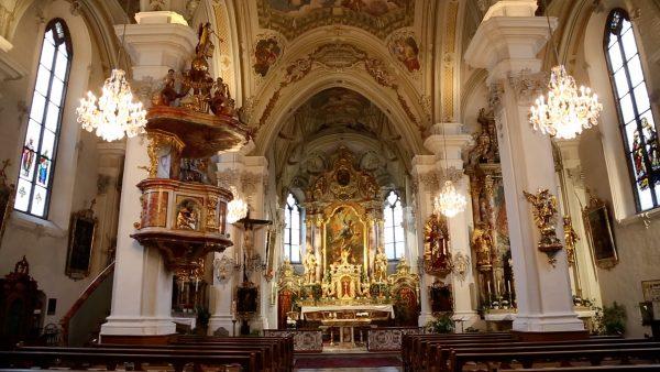Allerhand aus'm Tyroler Land: Gnadenbild in der Wallfahrtsbasilika in Absam