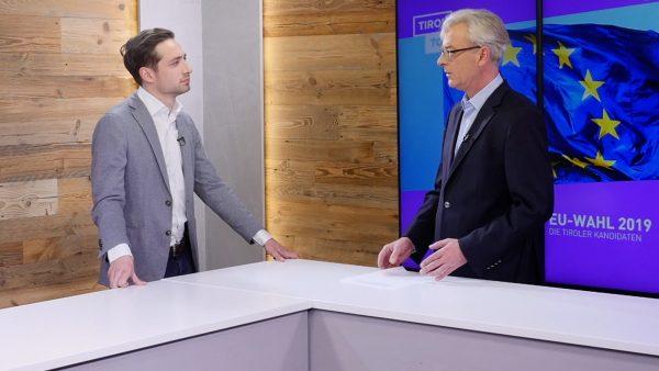 Studiogespräch mit FPÖ-Spitzenkandidat Maximilian Kurz