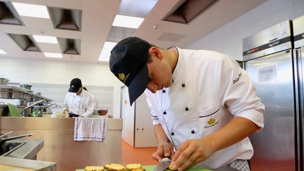 Wir drücken die gastronomische Schulbank: ein Tag in der Villa Blanka
