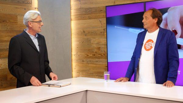 Impfexperte Peter Kreidl im Gespräch