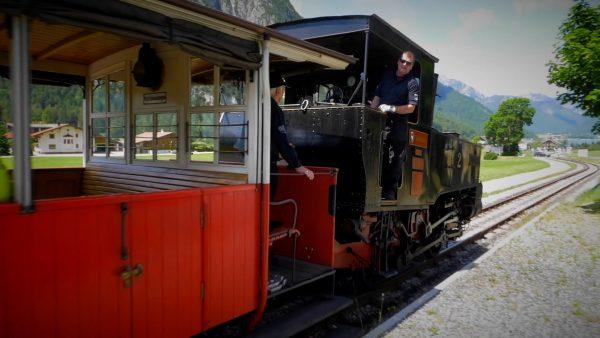 Mit der Achenseebahn auf Tour Tirol