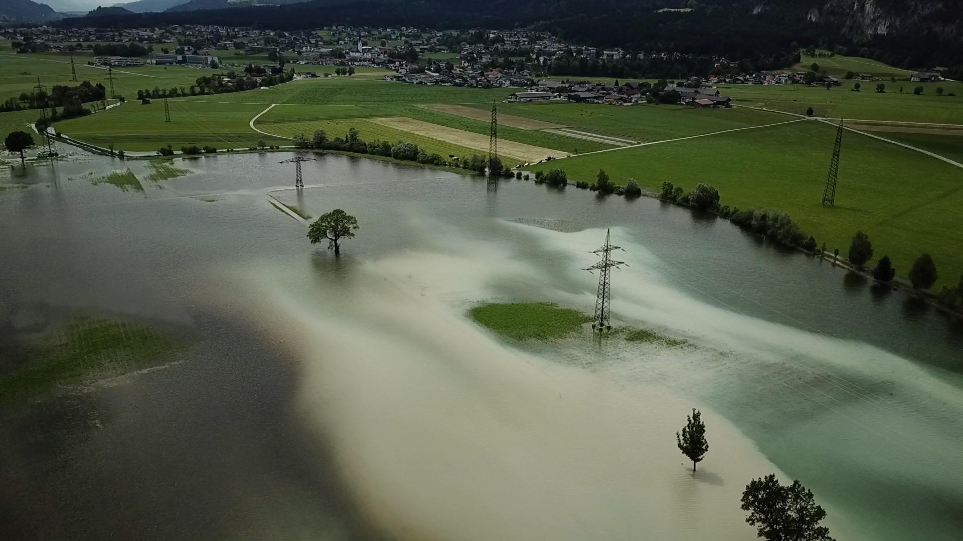 Wir fassen zusammen: Hochwasser in Tirol