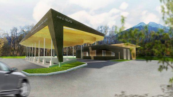 Abfallwirtschaftszentrum für vier Gemeinden