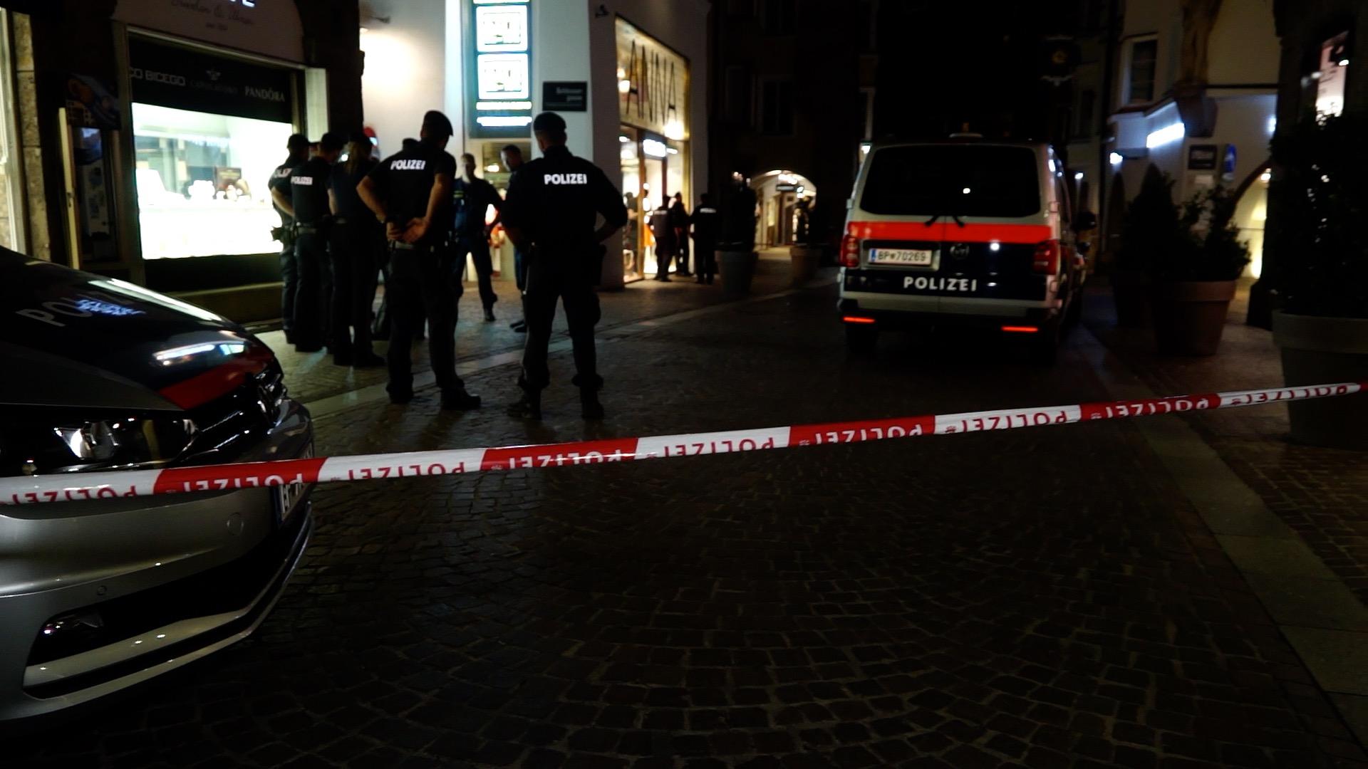 Bombenalarm in Innsbruck