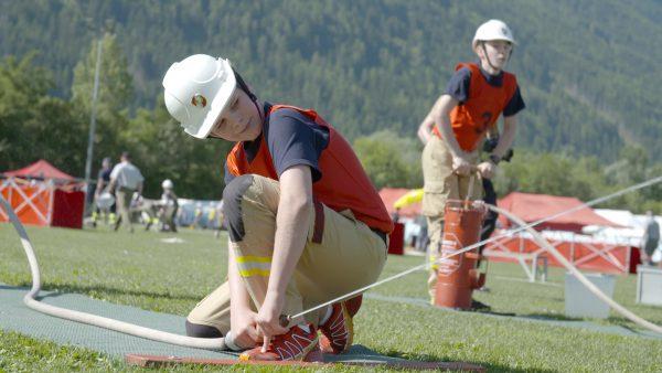 Der erste Feuerwehrjugendleistungswettbewerb