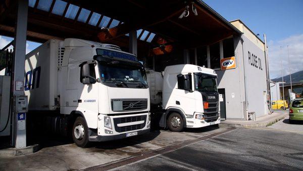 Ab dem 1. August gilt das Lkw-Zufahrtsverbot bei Billig-Dieseltanstellen