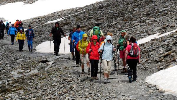 Sulden am Ortler gemeinsam erwandern mit TT-Wandercup