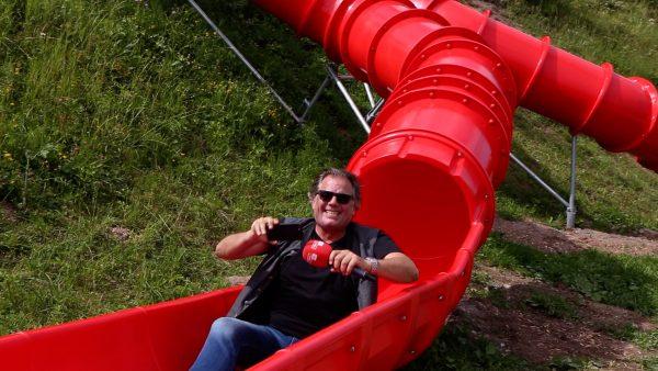 Ja das ist unser Land - Hubsi beim Sommererlebnis Streif