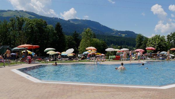Badespaß in den Ferien