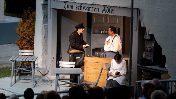 "Premiere ""Verkaufte Heimat"" der Tiroler Volksschauspiele"