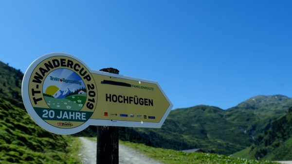 TT Wandercup Hochfügen am 18. August 2019