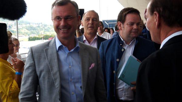 FPÖ Spitzenkandidat Norbert Hofer zu Besuch in Tirol