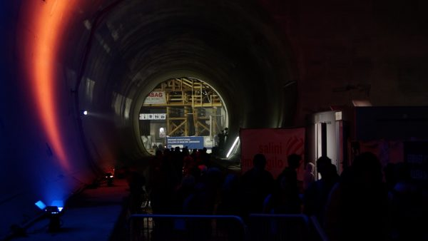Rund 4000 Besucher beim Tag des offenen Tunnels 2019