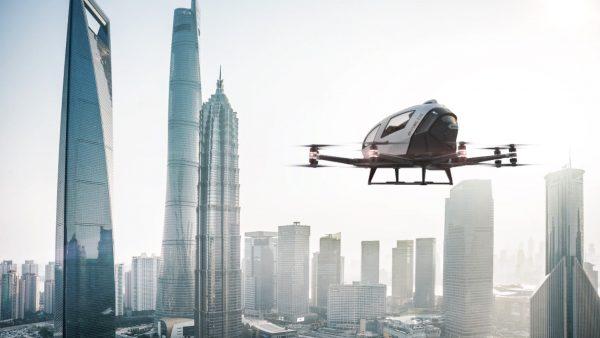 Fliegende Taxis und elektrische LKW