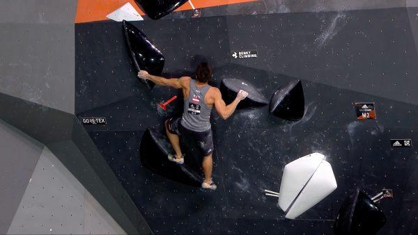 Tiroler wird zweiter bei Boulder Wettkampf
