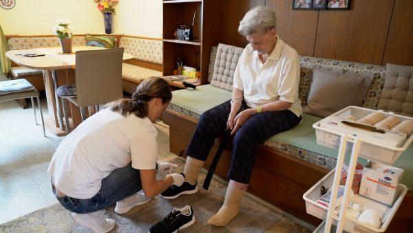 Ein Tag in der mobilen Pflege