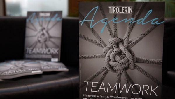 Teamwork bei der Tirolerin Agenda