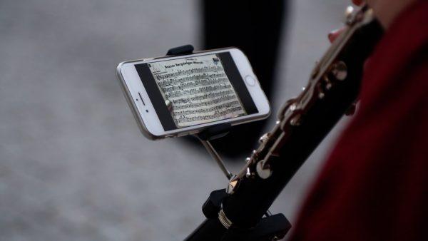 Musiknoten digital lesen