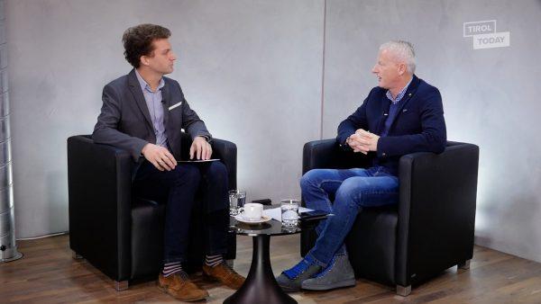 Studiogespräch mit dem neuen Geschäftsführer der Olympiaworld in Innsbruck