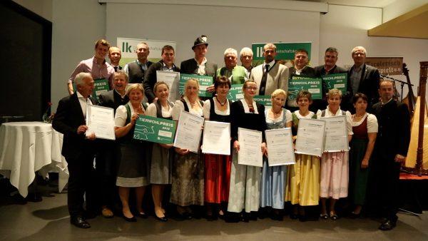 Auszeichnung für neun landwirtschaftliche Betriebe