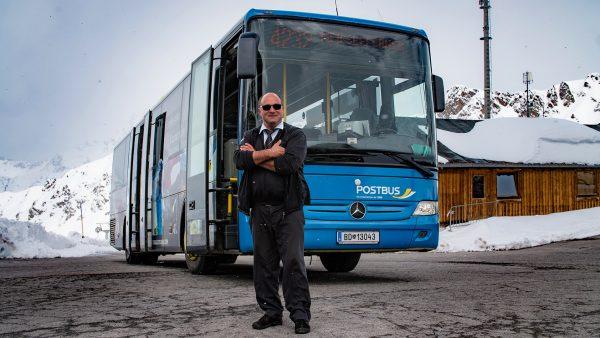 Busfahrer mit Leib und Seele