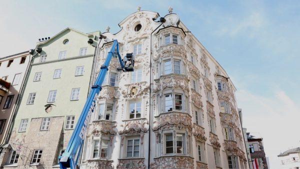 Historische Bauwerke für die Zukunft erhalten