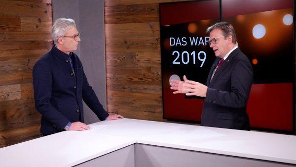 Bilanzgespräch mit Landeshauptmann Günther Platter