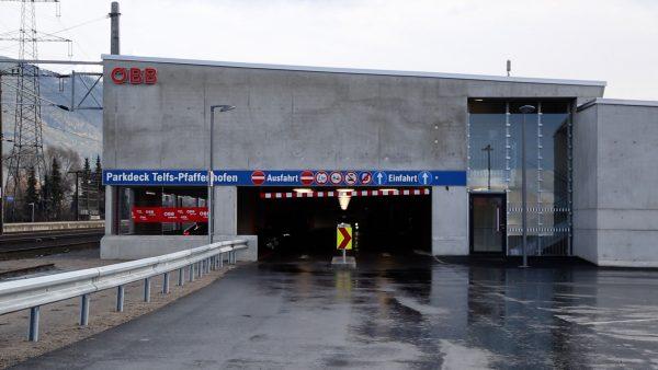 Gebührenpflichtiges Parkdeck in Telfs eröffnet