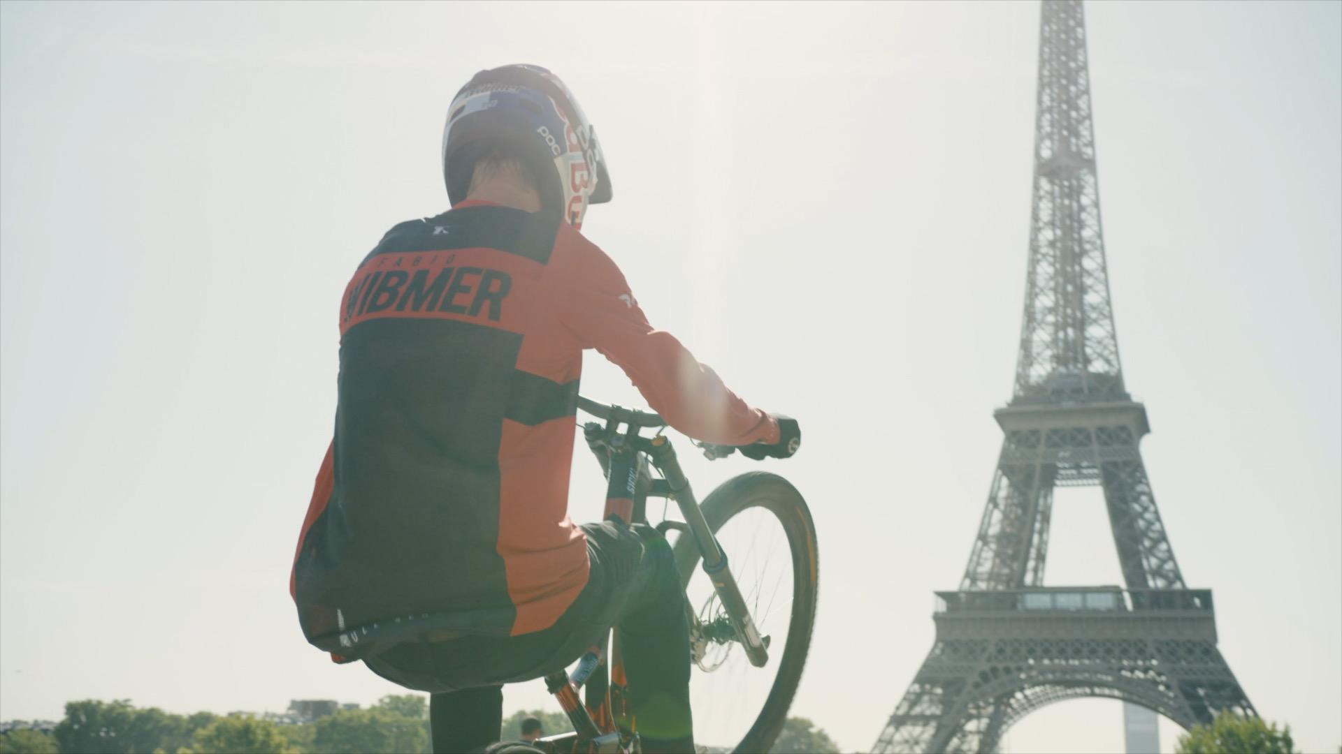 Mit dem Bike über Direktweg von Lyon nach Paris
