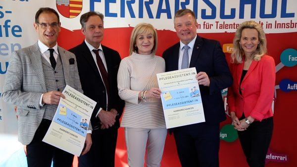 An der Ferrarischule Innsbruck gibt es bald eine Fachschule für Sozialberufe