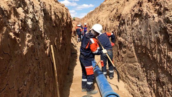 Wasser für die Mongolei