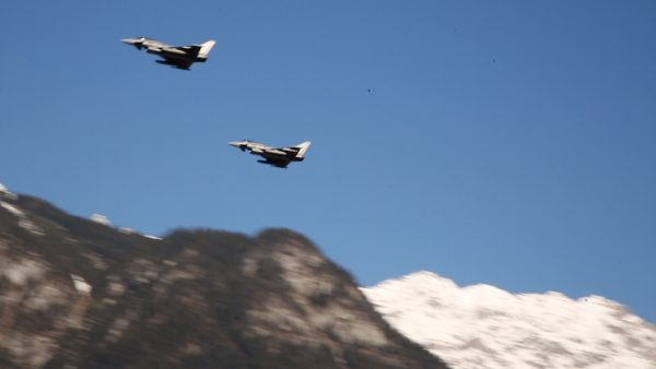 Das österreichische Bundesheer sichert den Luftraum