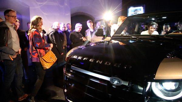 Vorfreude auf den neuen Land Rover Defender