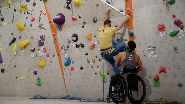 """""""INN Klettern"""" Projekt für Menschen mit Beeinträchtigung"""