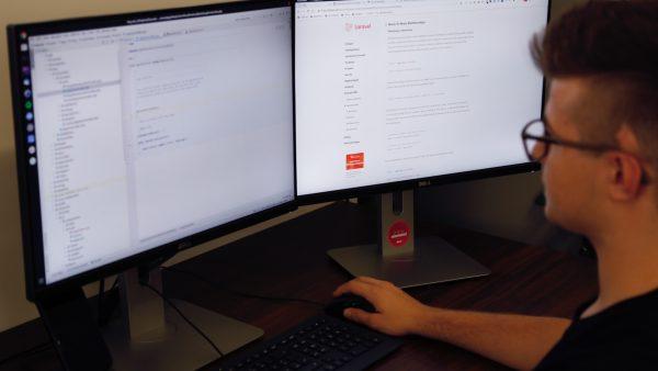 Berufsreise: Dominik macht die Lehre zum Applikationsentwickler