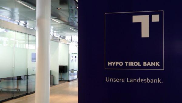Auszeichnung für Hypo Tirol Bank
