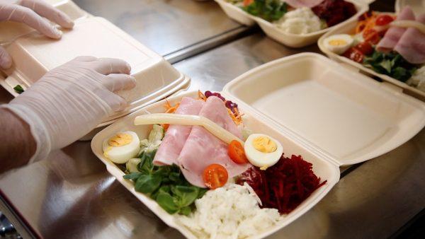 Kostenloses Mittagessen für Einsatzkräfte