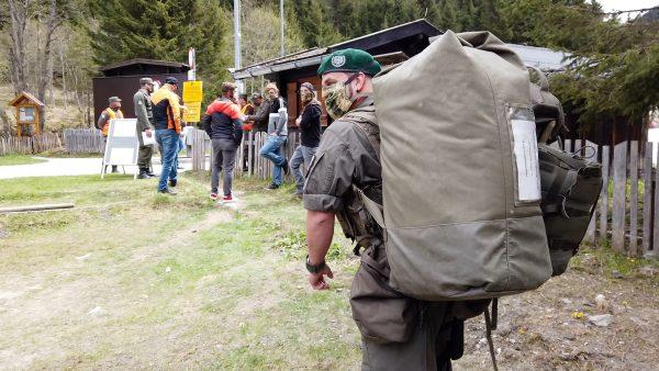 Erstmals werden Milizsoldaten einberufen