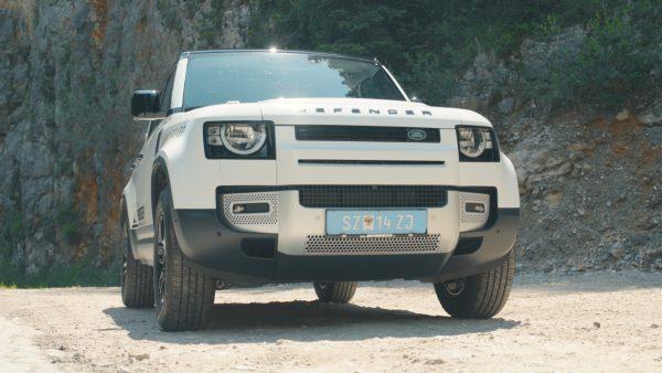 Land Rover Defender 110 auf dem Markt