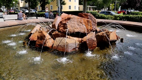 Allerhand aus'm Tyroler Land: Brunnen in Hall