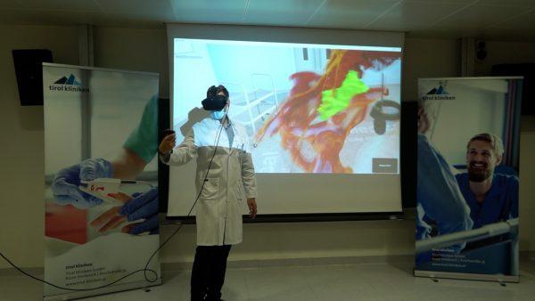 OP-Vorbereitung im Virtuellen Raum