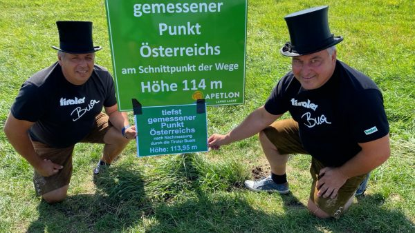 Die Tiroler Buam auf Österreichtour