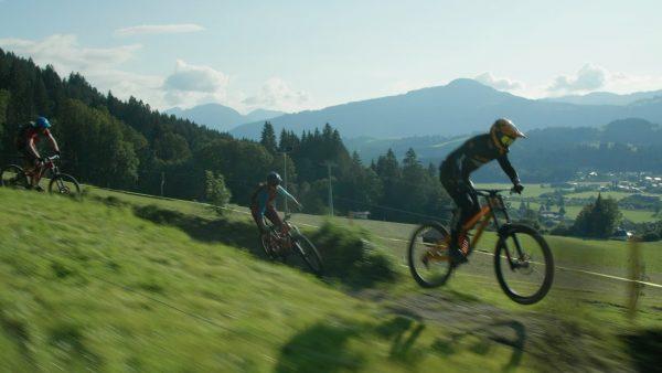 Mountainbiken am Harschbichl