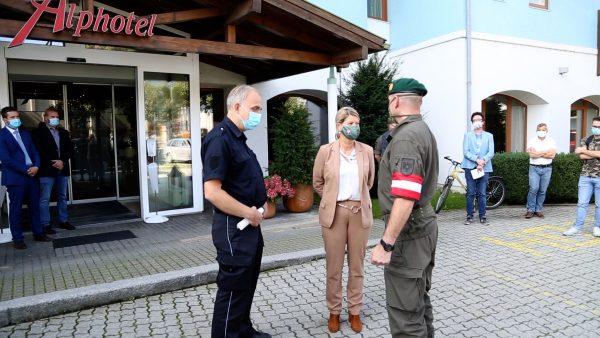 Neues Corona-Zentrum in Innsbruck